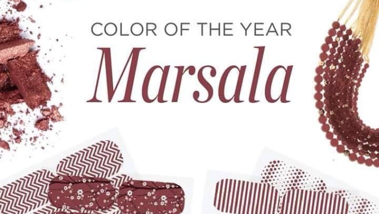 Marsala: Pantone's Color of the Year in Web Design